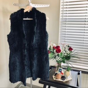 Love Token Genuine Fur Vest